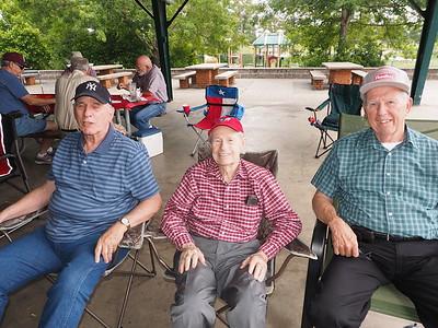 May 2015 - Ed Griggs, Ken & Walt Blake