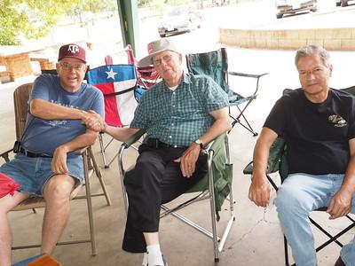 Pres Dave Stroble, Walt Blake & Terry Tillman