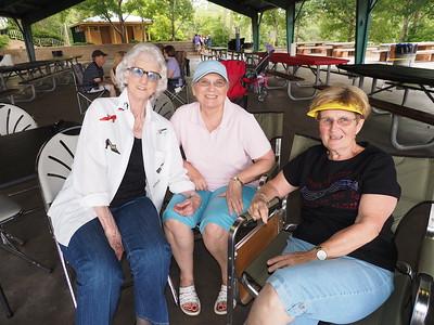May 2015 - Jeanne Cole, Ann Cain & Janet Blake
