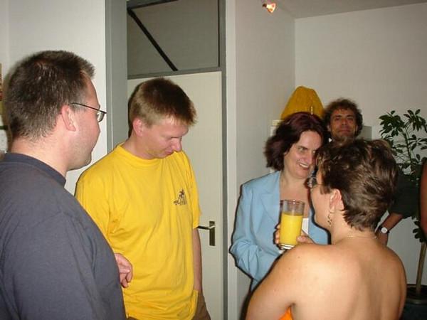 Sander, Rob, Isabel, Karel