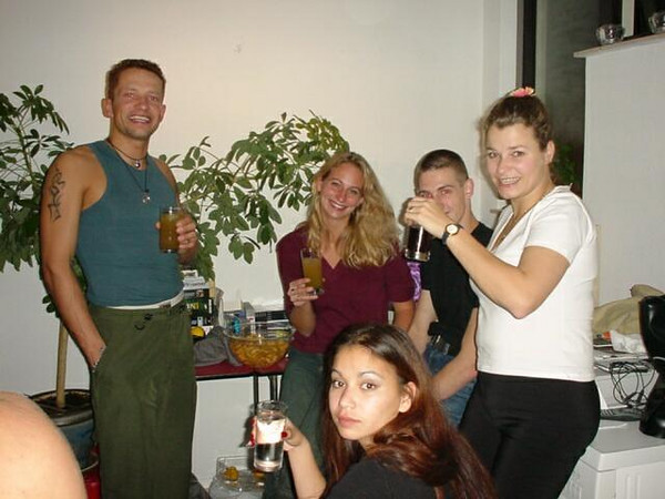 Paul, Melanie and Juli