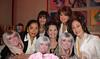Noreet Haase, Lee Fryd (back), Cynthia Maltese, Joan Jedell (back), and Lucia Hwong-Gordon