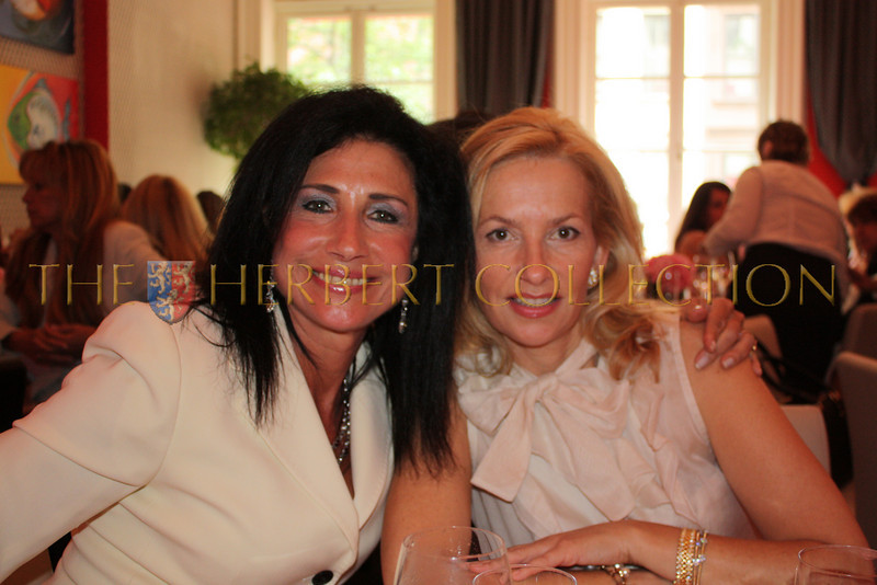 Dame Donna Soloway and Susana Sabet