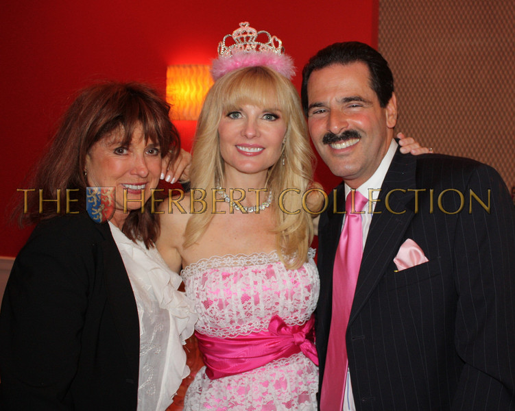 """Joan Jedell publisher """"The Hamptons Sheet"""", Colleen and Gary Rein"""