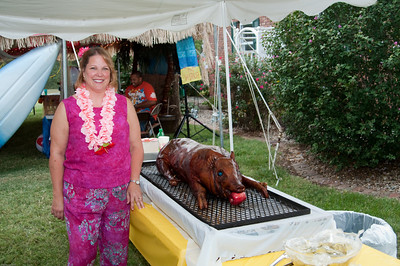 Connie's Hawaiian Luau Birthday Party