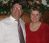 Yep, thats me and the betterhalf. We area having a really good time at the Christmas Party. Hope you enjoy the pictures.