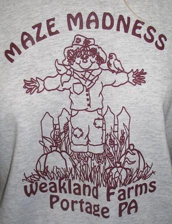 Prison Corn Maze