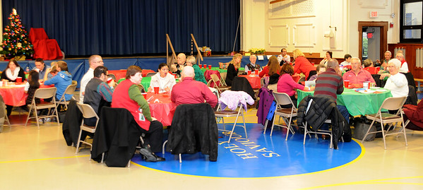 DEAF MINISTRY XMAS PARTY , HOLY SAVIOUR R.C. . WESTMONT NJ. 12/16/12