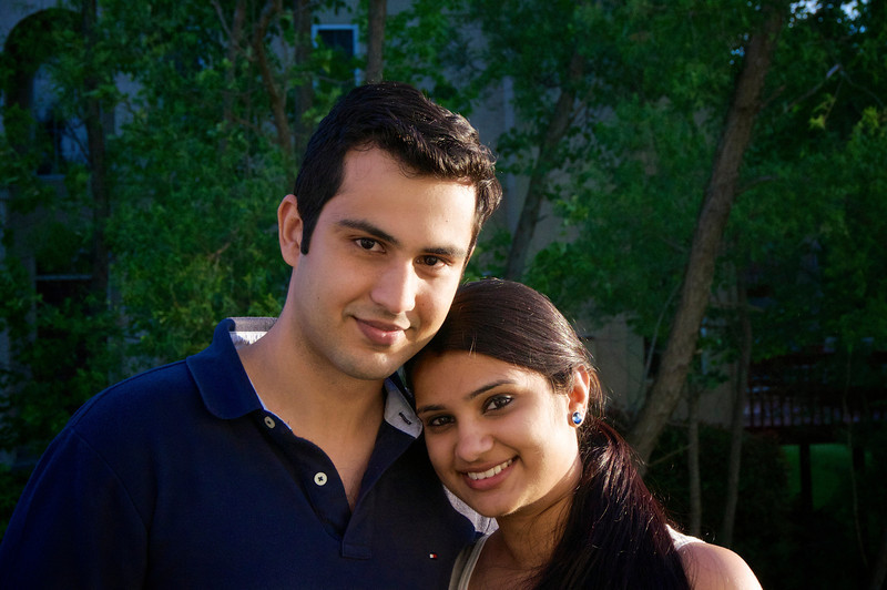 Sameer and Aleykhia Dhawan<br /> DSC 2593