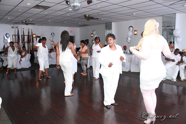 DONALD'S 50TH ALL WHITE BIRTHDAY PARTY