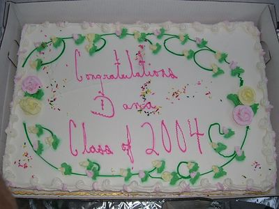 Dana's Graduation Party