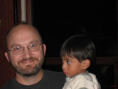 Dan and his nephew, Julian