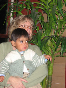 Julian and his Mom
