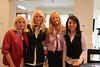 Debbie Dan Fields; our hostess, Sara Herbert-Galloway, Bonnie Pfeifer Evans and Pei-Sze Chang ; NBC News