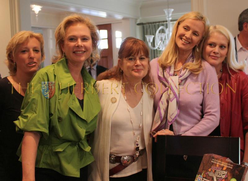 Jennifer Dumas, Pamela Morgan, guest, Bonnie Pfeifer Evans, Debbie Dan Fields
