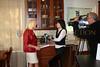 Debbie Dan Fields; our hostess, and Pei-Sze Chang ; NBC News