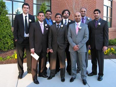 Justin, Me, Arpan, Nimesh, Achyut, Parag, Kunal, and Anuj