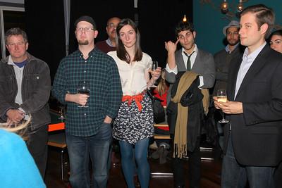 Featuring among others - Suzanne Irate Ruecker (center), Julian Davis, Alex Walker (right).