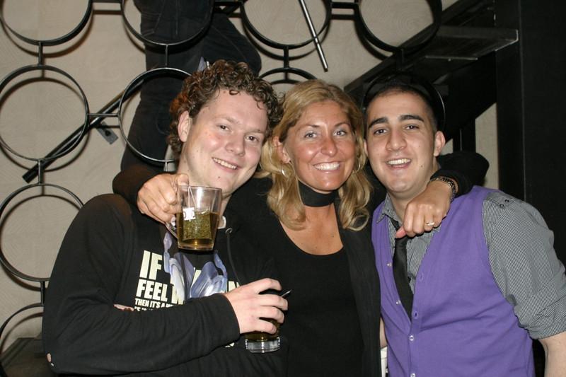 Anko, Joyce and Ahmed