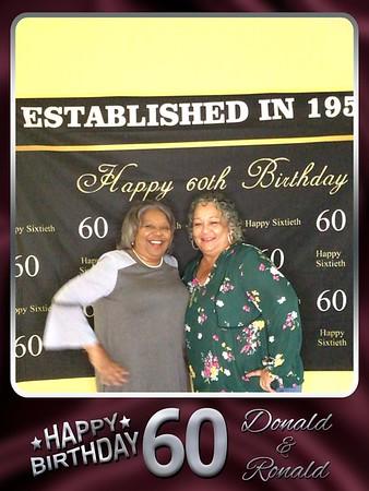 Donald & Ronald's 60th Birthday