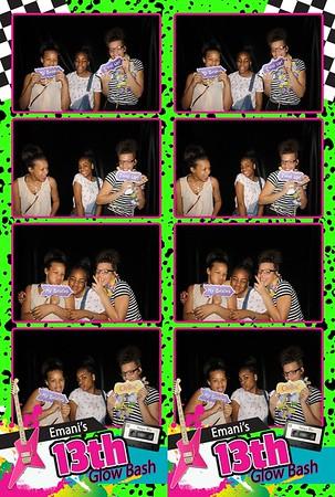 Emani's 13th Glow Bash