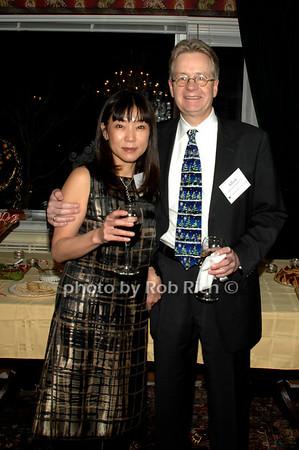 Tomoko Tarata and Allyn Stickland