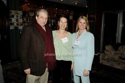 Benjamin Barber, Leah Kreutzer and Bonnie Comley