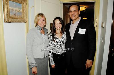 Cathy Black, Diane Baldo and John Baldo