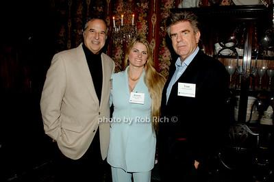 Stewart Lane, Bonnie Comley and Tom Freston