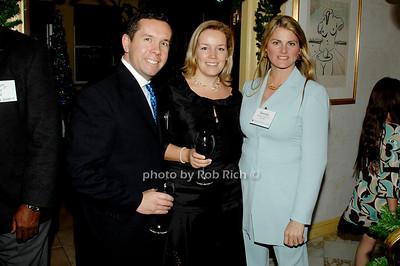 Eduardo Samame, Vanessa de Samame and Bonnie Comley