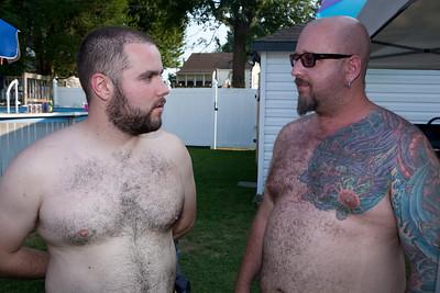 Ernie & Brian August 2011