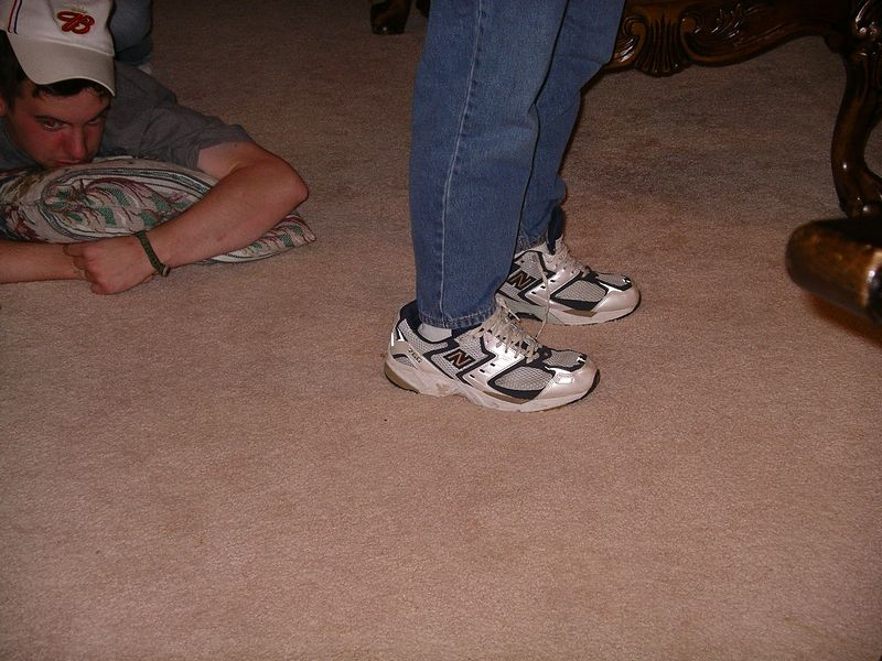 Roe in Evan's shoes