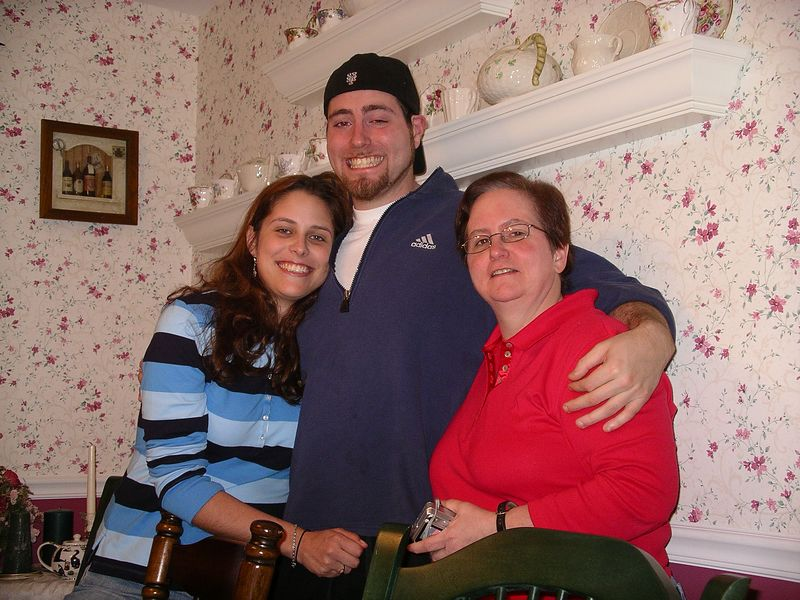 Nora, Chris and Aunt Joan
