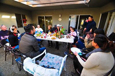 Family Christmas with Grandma  12/23,12