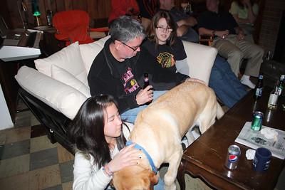 20100116 Wozniak Chili Party-Bears Playoff 025