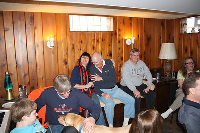 20100116 Wozniak Chili Party-Bears Playoff 017
