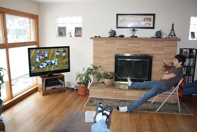 20100116 Wozniak Chili Party-Bears Playoff 005