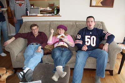 20100116 Wozniak Chili Party-Bears Playoff 008