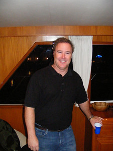 And then, just as the reunion guests began running out of elbow room, Captain Craig Lyons arrived with another 25 on his boat!