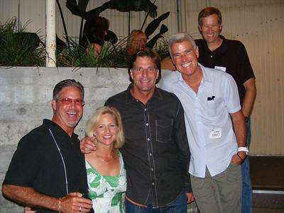Dave Knox, Lisa Beckley, Mike Flinn, Greg Hart, and Bruce Wyman