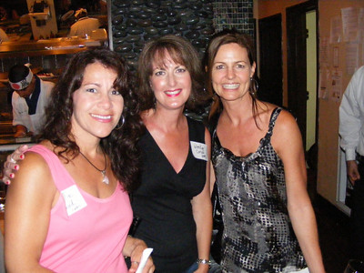 Laurie Howard, Wendy Carson Flammer, and Holly Hendrickson Halford