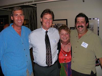Andy McVay, Kirk and Yvonne Elliot, Ron Pierotti