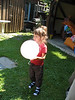 Eva mit Ballon