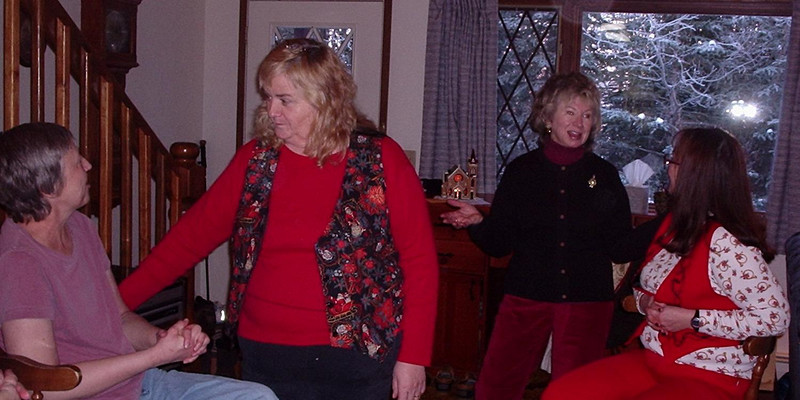 Special time: Anne Wohlers, Kathy Lopeman, Sherry Innes, Esther Richeson