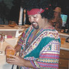 My friend Joe Isaac as Jimmie Hendrix