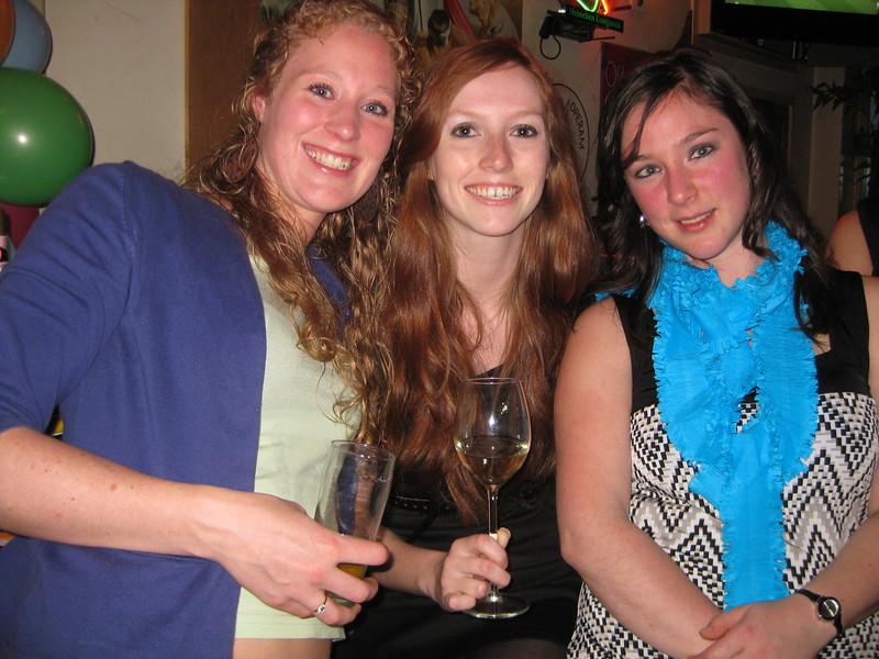 Marcia, Lorraine, Marianne
