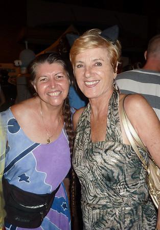 Brigitte and friend dntn Halloween 10