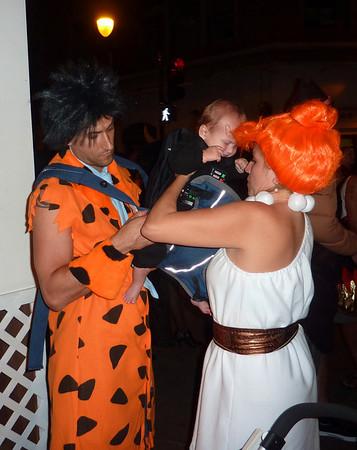 Halloween eve 2010 Flinstones dntn hon