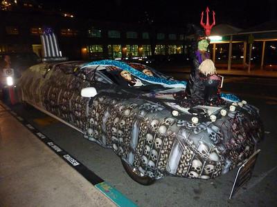 Halloween limo 103010 Aloha Tower Hono