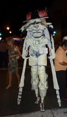 Predator  dntn halloween eve 2010